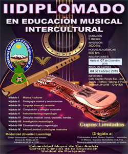 Diplomado en educación musical intercultural